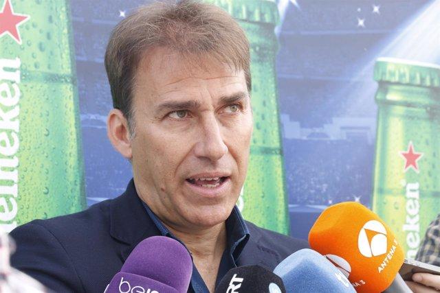 Rafa Martín Vázquez, exjugador del Real Madrid