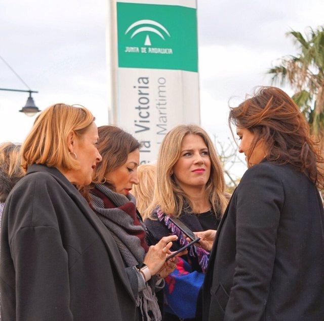 Mariví Romero Patricia Navarro Ana Mestre y Marga del Cid Torremolinos sanidad