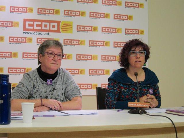L.Sandalinas y A.Garcia, CC.OO.