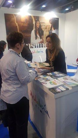 El Servicio Provincial de Turismo promociona 'Costa de Almería' en la BIT.