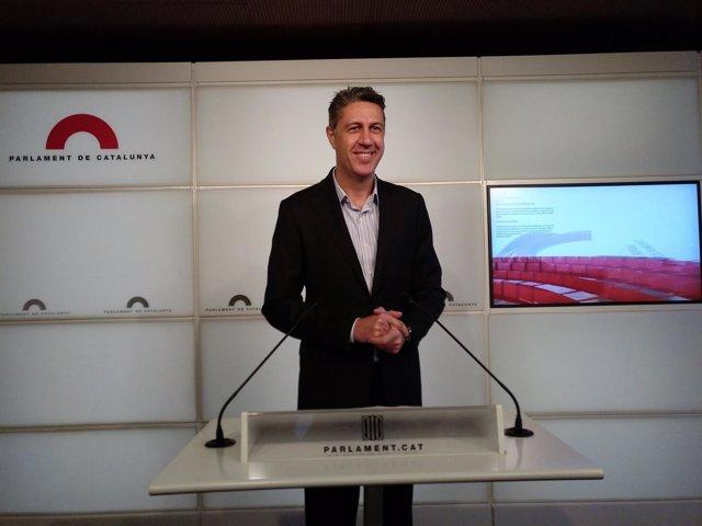 El líder del PP catalán, Xavier García Albiol, en una imagen de archivo.