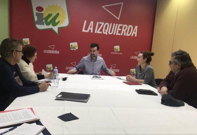 Reunión De IULV-CA Con MAEP