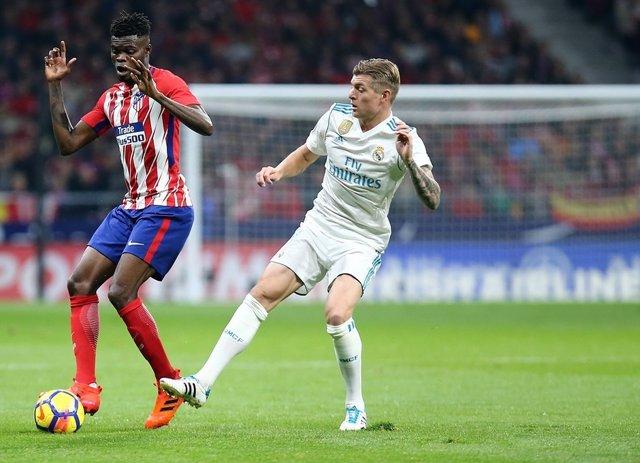 Kroos (Real Madrid) Thomas (Atlético de Madrid)