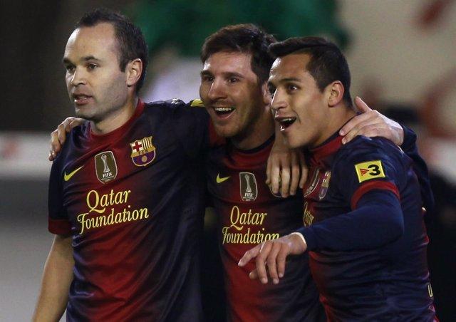 'Torpedo' Messi Ahoga El Sueño Europeo Del Betis