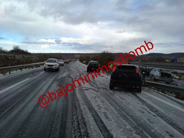 Accidente de Navarrete con 30 vehículos implicados