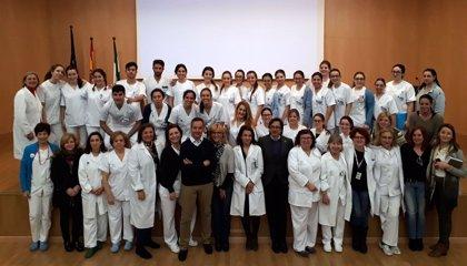 El Hospital de Valme de Sevilla acoge a un total de 31 estudiantes de enfermería en prácticas