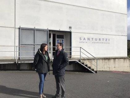 El elkartegi de Santurtzi, el segundo de la Margen Izquierda, estará en marcha el próximo verano