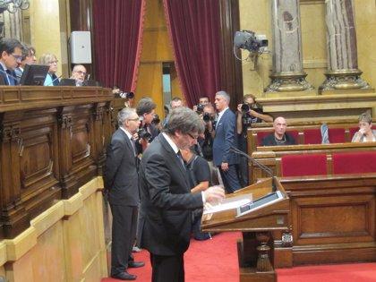 JxCat pide al TC que rechace el recurso de Rajoy contra la investidura de Carles Puigdemont