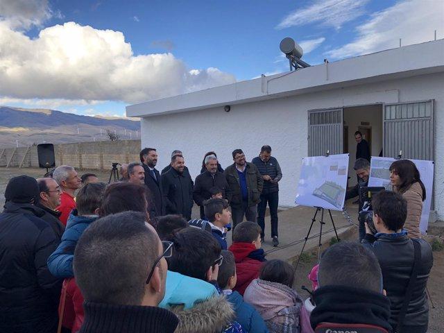 Nota De Prensa Y Fotografía. Almería Contará Con Una Inversión De Más De 513.000