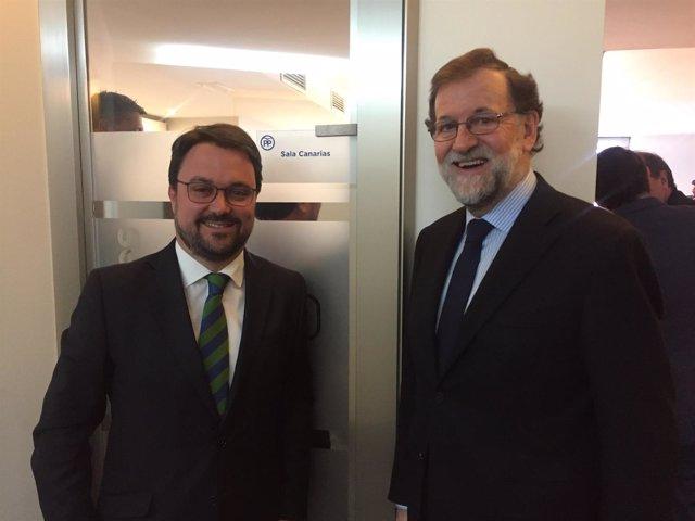 Antona y Rajoy