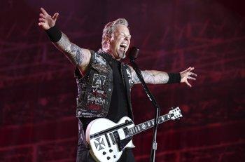 Foto: James Hetfield, el líder de Metallica, debuta como actor en la película del asesino en serie Ted Bundy