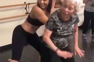 Una abuela de 90 años baila 'Dura' de Daddy Yankee y se viraliza en las redes