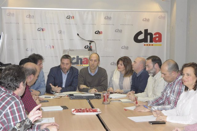 El Consello Nazional de CHA se ha reunido con el Grupo Municipal.