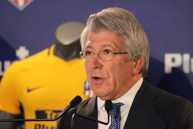 Enrique Cerezo (Presidente Atlético de Madrid)