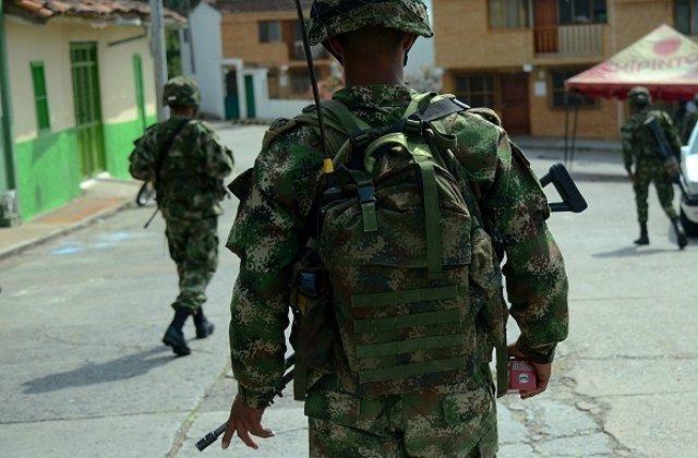 Atentado soldados colombianos