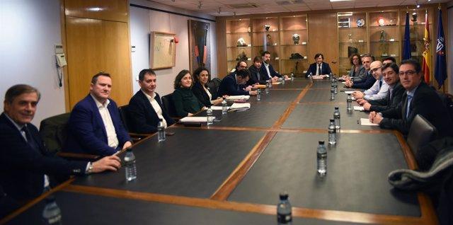 Reunión entre la ACB y la ABP en la sede del CSD