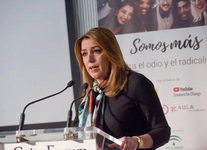 """Susana Díaz advierte al PSOE de que """"no se puede relajar"""" porque es """"la alternativa de gobierno en España"""""""