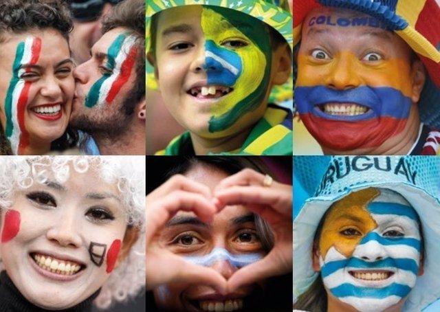 Discriminación fútbol colores deporte países