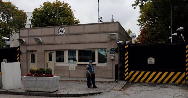La Embajada de Estados Unidos en Ankara.