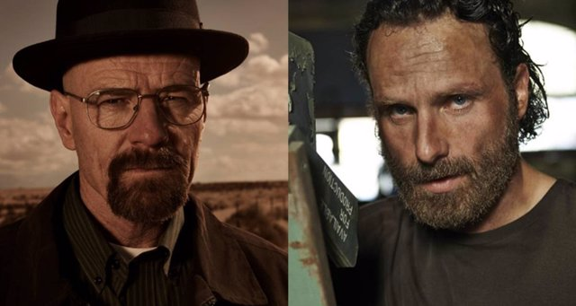 The Walking Dead y Breaking Bad