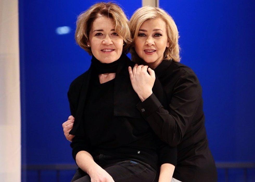 María Pujalde y Amparo Larrañaga