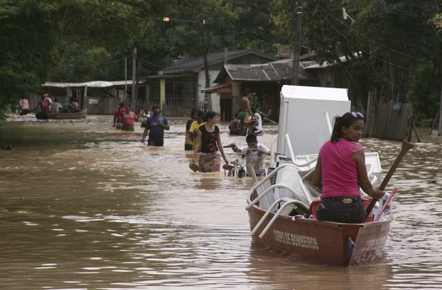 Inundaciones en Bolivia marzo de 2014 (región de Beni)