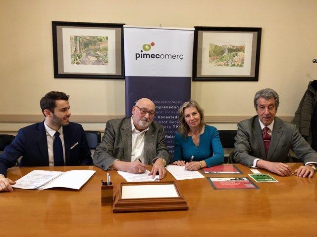 Miquel de Garro, Àlex Goñi, Teresa Martí i Miguel Segura
