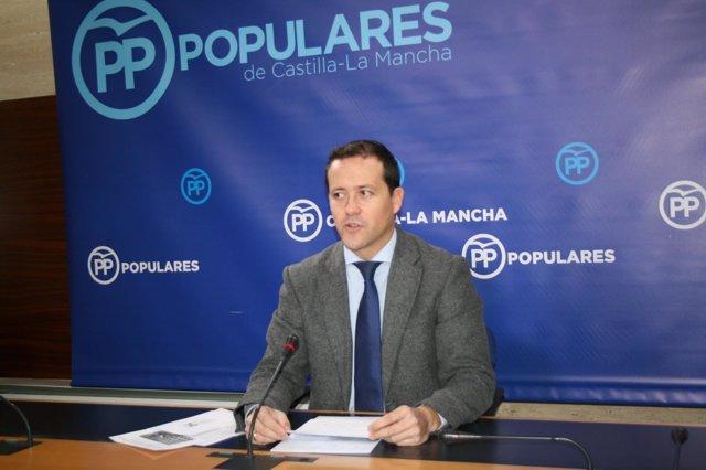 Gpp Clm (Cortes De Voz Y Fotografía) Rueda De Prensa De Carlos Velázquez