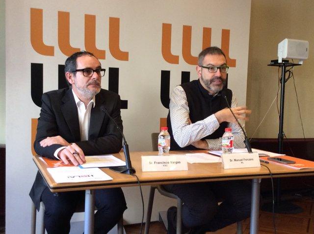 F.Vargas i M.Forcano (IRL)