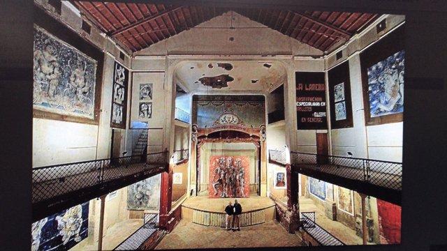 ARCA celebra la rehabilitación del teatro de la Defensora en Sóller