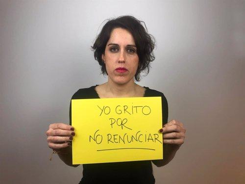 Fundadora Malasmadres campaña '#RompeElMuro'
