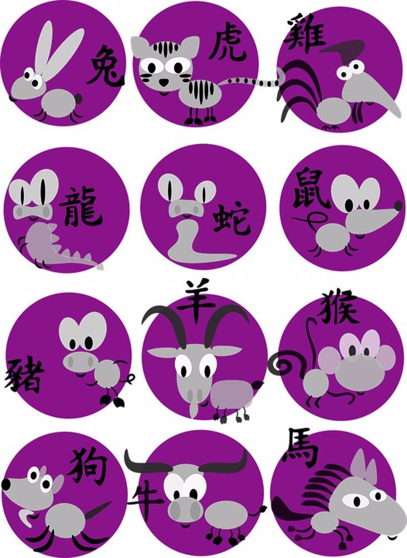 El calendario chino es distinto a otros horóscopos que conocemos. Para  saber qué animal eres, se calcula según el año (según el calendario lunar)  en que has ...