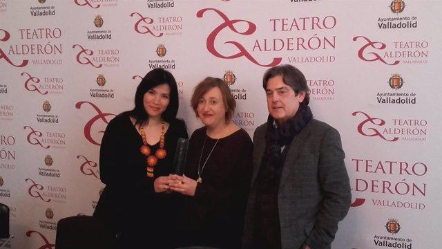 Amaranta Osorio e Itzíar Pascual reciben el Premio de Literatura Dramática