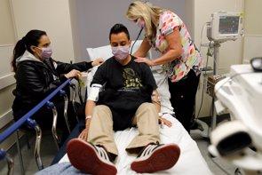 Más del 10% de los pacientes hospitalizados con gripe acaban falleciendo, pero no por el virus (REUTERS / MIKE BLAKE)