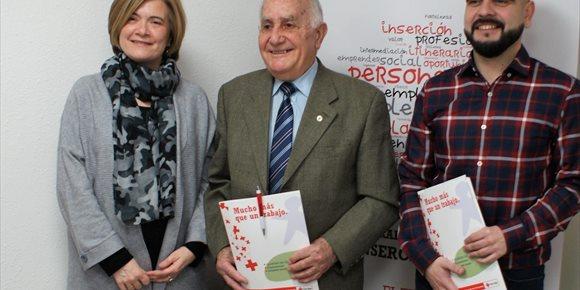 5. Los servicios de empleo de Cruz Roja lograron trabajo para 247 personas en La Rioja a lo largo de 2017