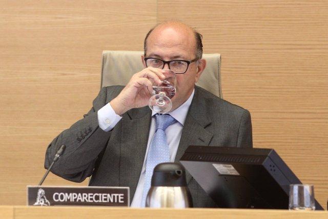El presidente del Tribunal de Cuentas, Ramón Álvarez de Miranda García