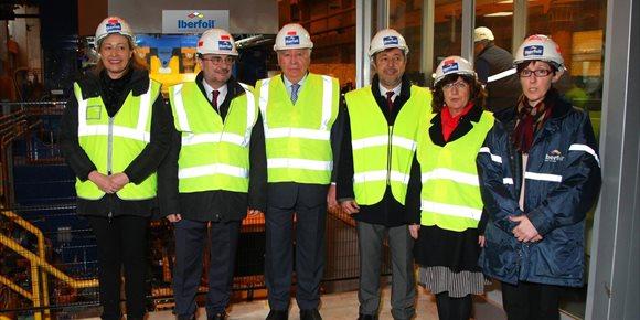 2. La fábrica de Iberfoil en Sabiñánigo ampliará su producción tras una inversión de 15 millones