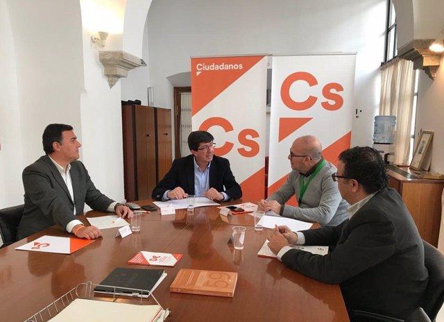 Reunión entre Cs y CSIF-A