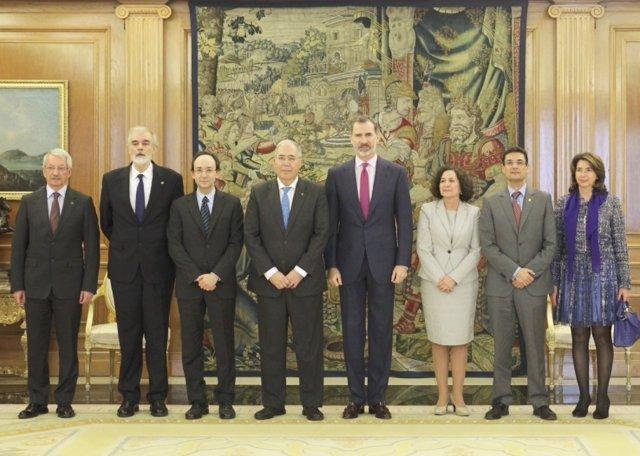 Casa de S.M. El Rey. Audiencia del Rey al al Comité Permanente de la Conferencia