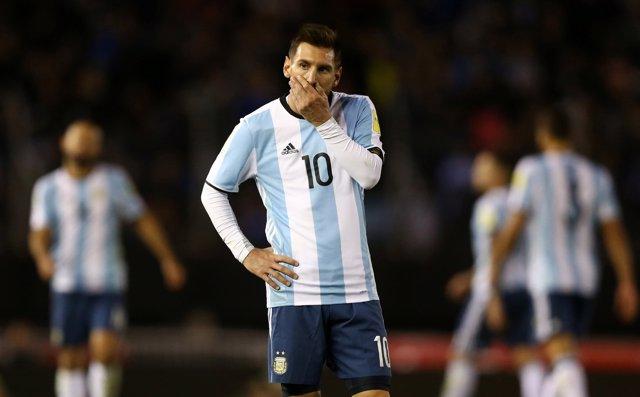 Messi se lamenta con Argentina