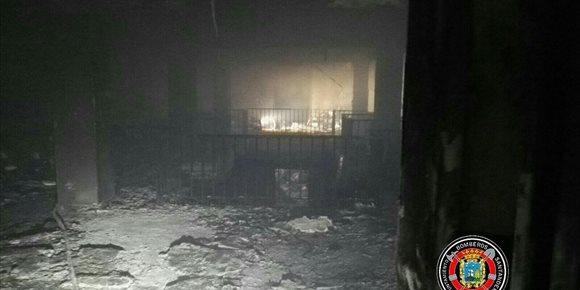 1. La aseguradora del edificio del MAS asumirá los daños del incendio