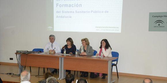 7. La Junta presenta en Jaén la Estrategia de las Políticas de Formación del Sistema Sanitario Público de Andalucía