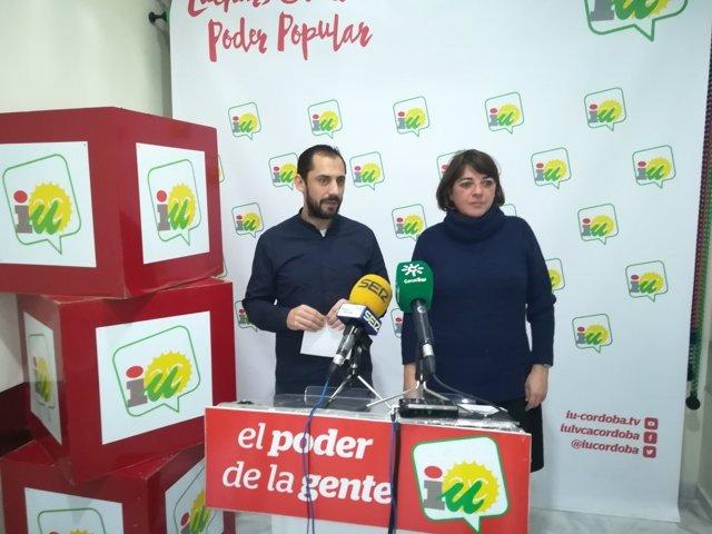 Pérez y Cortés en la rueda de prensa