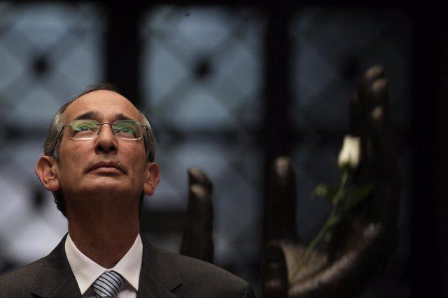 El expresidente de Guatemala, Álvaro Colom