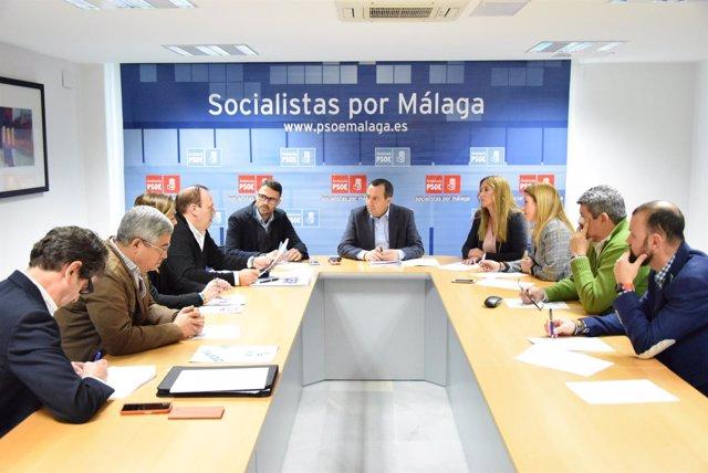 Ruiz Espejo. PSOE. Con colectivos de Policía Nacional y Guardia Civil