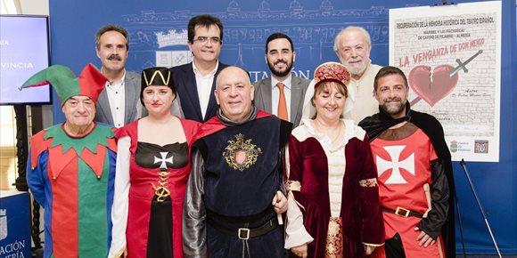 7. 'La venganza de Don Mendo' recorrerá la provincia después de su estreno en el Auditorio Maestro Padilla de Almería