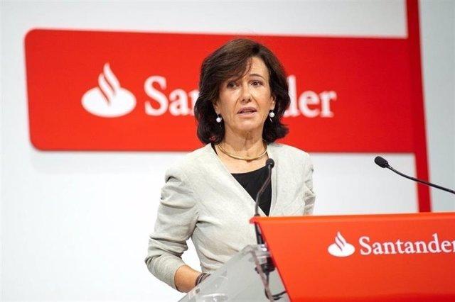 Ana Botín, presidente del Banco Santader