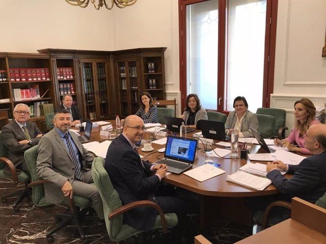 Primera reunión Comisión Permanente del Consejo Consultivo de Andalucía