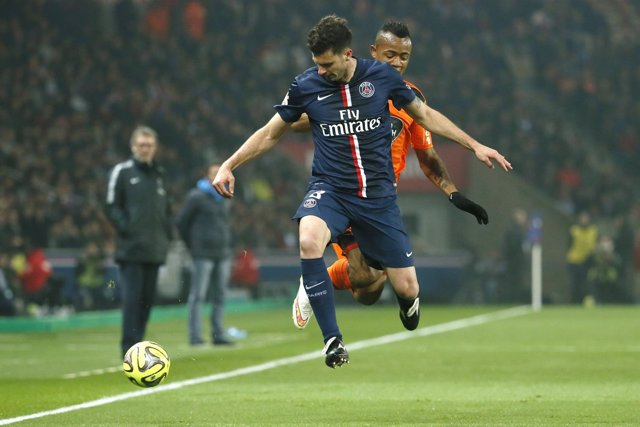 Paris Saint Germain Thiago Motta Lorient