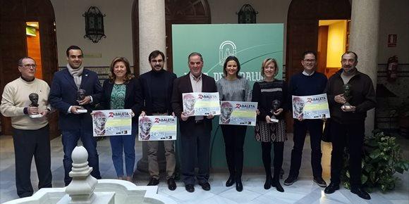 2. El Ayuntamiento de Quesada entregará sus Premios Zabaleta del Año el 24 de febrero